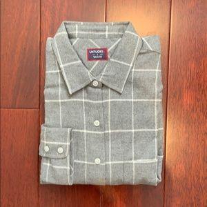 Untuckit flannel long sleeve